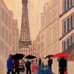 Sharron Bowen - Rainy Day in Paris